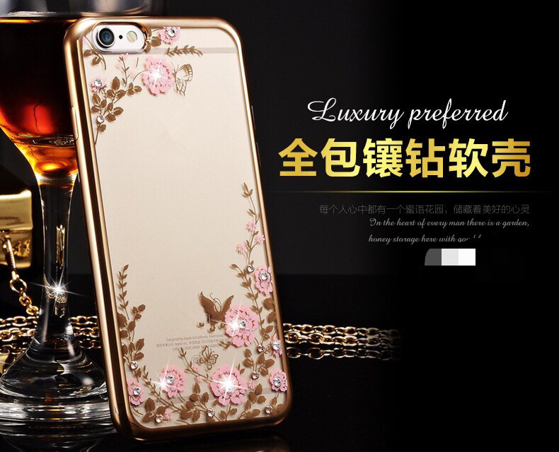 Diamond Plating TPU Cover Secret Garden Phone Case for Iphone 4 5 6 6S 7 8 Plus X For Ip-ad 6 Mini 1 2 3 4 Slim Back Cover
