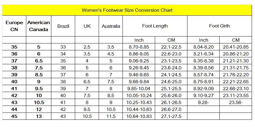 foot women