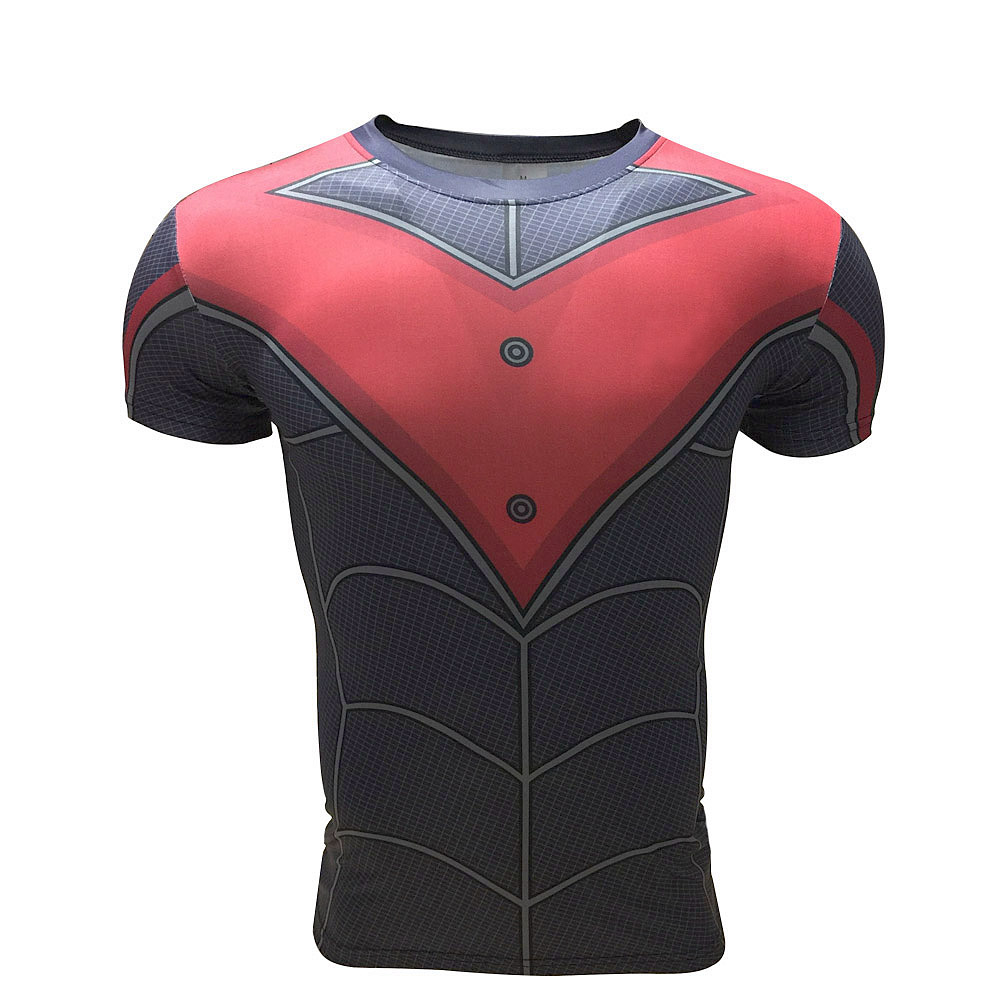 b56a6da4 Batman Beyond Bat Symbol Comics Licensed Adult Slim Fit Shirt S-XXL
