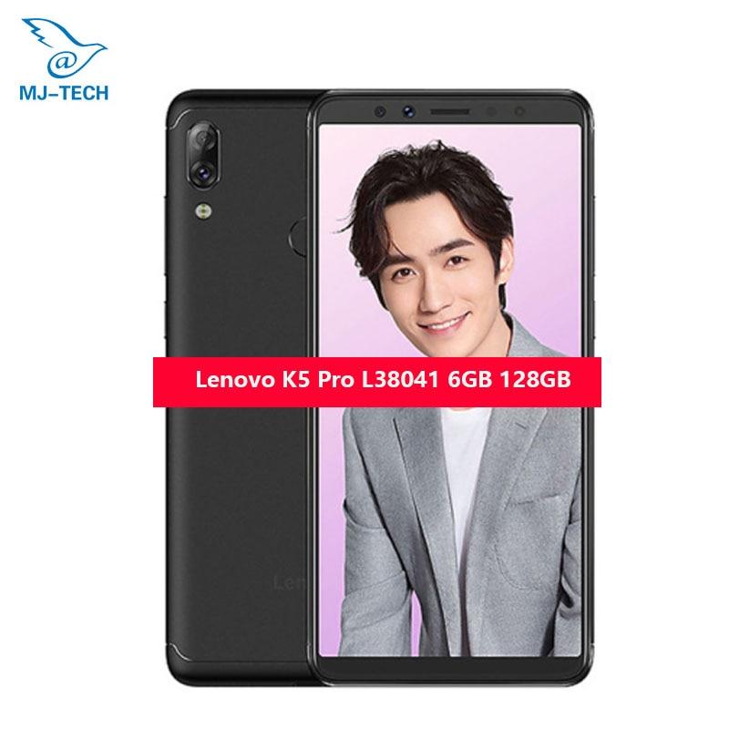"Expressive Global Rom Original Lenovo K5 Pro Ram 6g Rom 128g 5.99""inch Snapdragon Octa-core Dual Back Camera Fingerprint Zui Mobile Phone"
