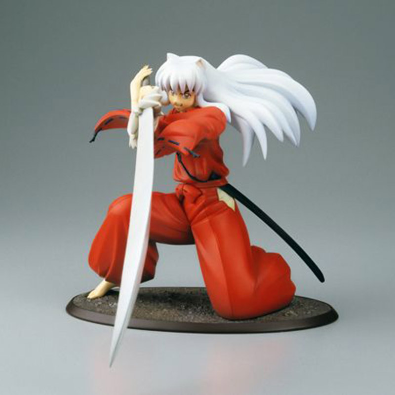 20 Cm Anime Kotobukiya Abbildung Red Kleidung Kampf Inuyasha Eine Feudal Märchen Pvc Action Figure Spielzeug Puppe