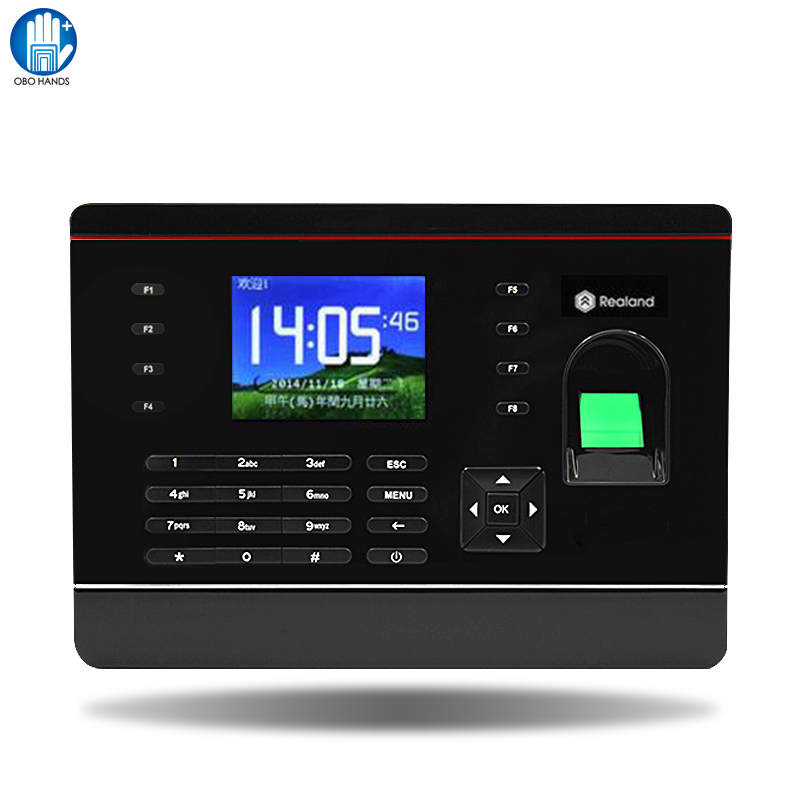 A-C061 TCP/IP Biometric Fingerprint Time Clock Recorder Attendance Employee Machine For Access Control biometric fingerprint access controller tcp ip fingerprint door access control reader