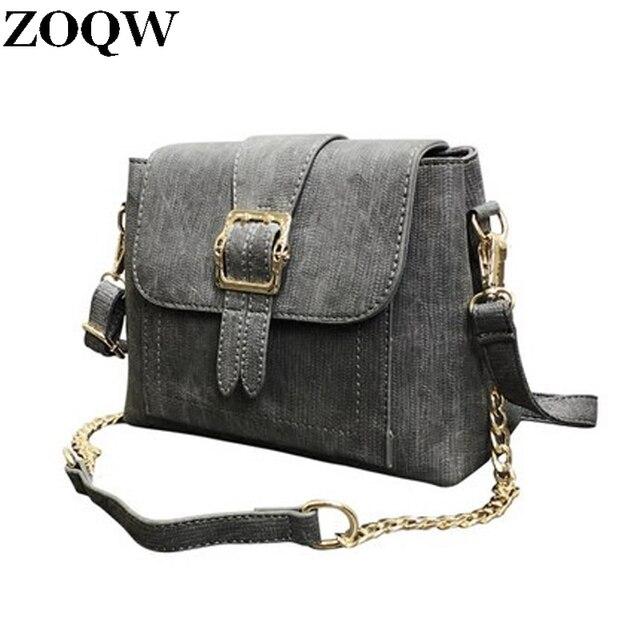 fcabacd0b3fb 2018 Autumn Winter Retro Fashion Chain Bag Black Red Women Messenger Bags  Vintage Luxury Handbags Women Bags Designer GQ2210
