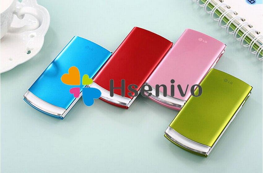LG GD580 Восстановленный Оригинальный разблокированный LG GD580 800 мАч 3.15MP внешний скрытый OLED дисплей сотовый телефон Бесплатная доставка