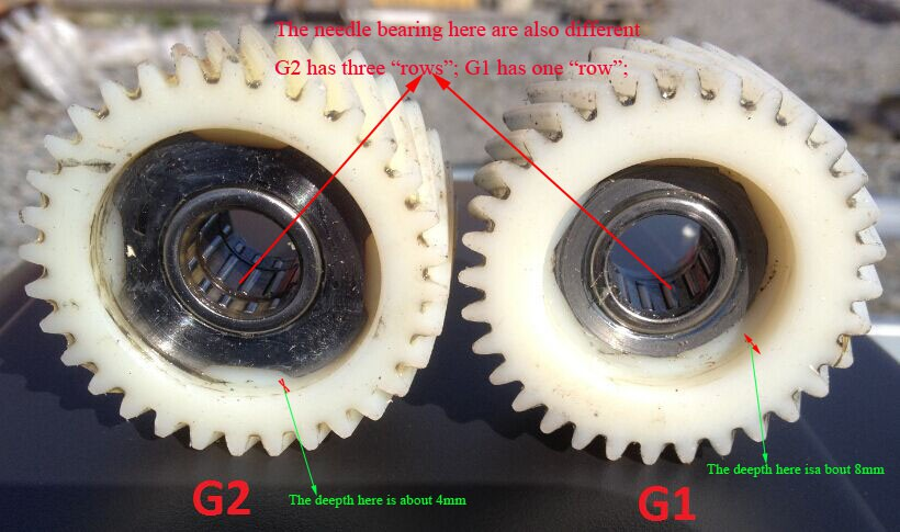 Bafang Bbs01/bbs02 And BBSHD Motor Reduction Nylon Gears, Old Version Nylon Gear Is Available Now