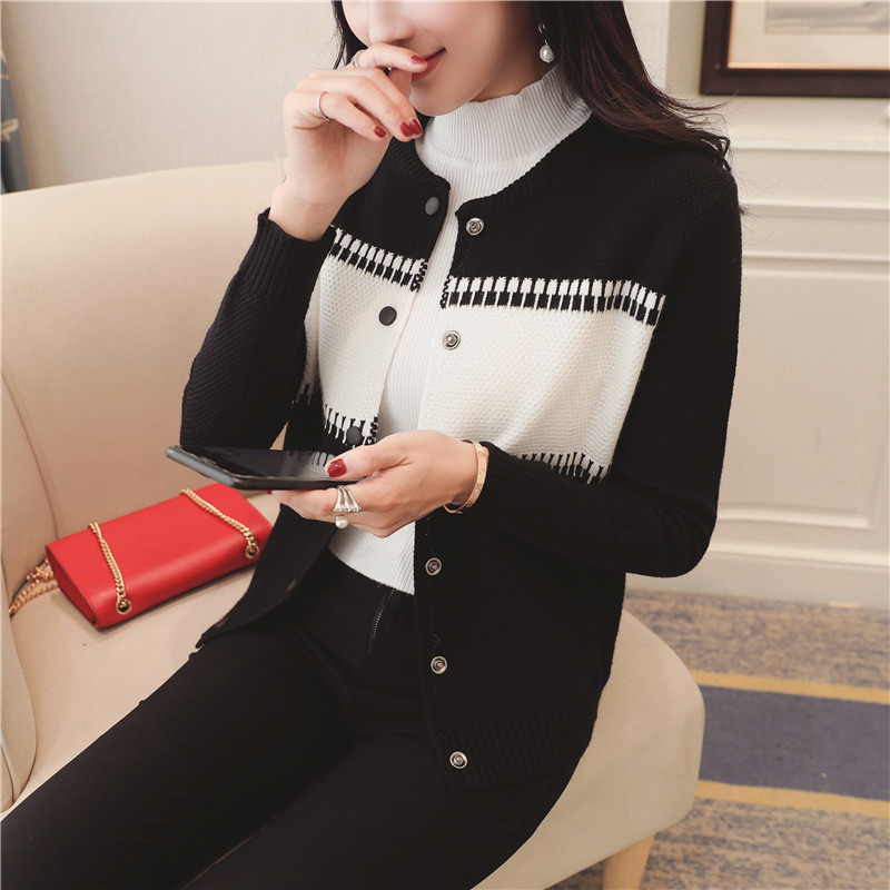4 Ont See speeed Femmes Bouton Fashionsweater Couleur Coréenne Vide Lignes De Cardigan Chart 43 Coupe 7233 see Chart wv0xqS