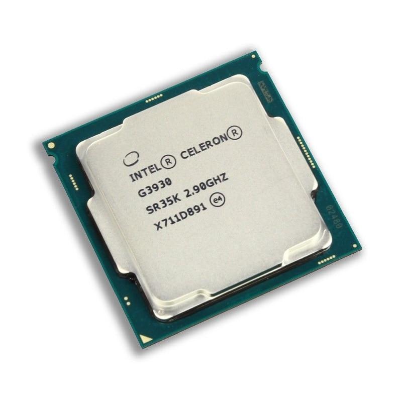 Intel Celeron G3930 2 90GHz 2M Cache Dual Core CPU Processor SR35K LGA1151 Tray