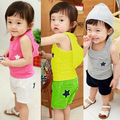 Baby Tops Children Vest Boys Summer Sleeveless T Shirts Cartoon Boys Tanks 2016 Fashion Toddler Tees T-Shirt Clothing