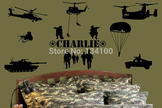 Custom Made Personalised Name Army Marines Military