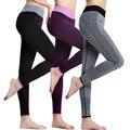 S-XL 4 Цвета женская Упругой Поножи Удобная Мода Марка Stretch Тонкий Тренировки Брюки Леггинсы Женщин