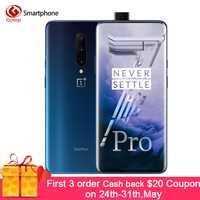 In Stock OnePlus 7 Pro 8GB 256GB Smartphone 48MP Cameras Snapdragon 855 6.67 Inch Fluid AMOLED Display Fingerprint UFS 3.0 NFC