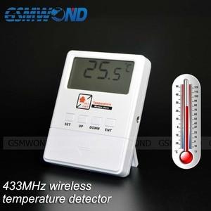 Image 5 - GSMWOND Detector de temperatura inalámbrico, Sensor de alarma de 433MHz, compatible con Alarma de alta y baja temperatura para nuestro sistema de alarma de casa