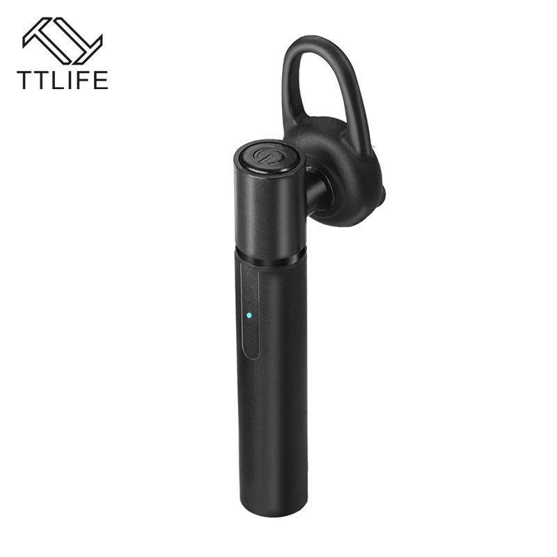 TTLIFE Original BT401 Wireless Headphone Bluetooth Headset Supports Music Earphone Car Handsfree Earbuds With Mic for Smartphone wireless bluetooth earbuds airpods earphones with usb car charger handsfree bluetooth earphone with mic for smartphone car