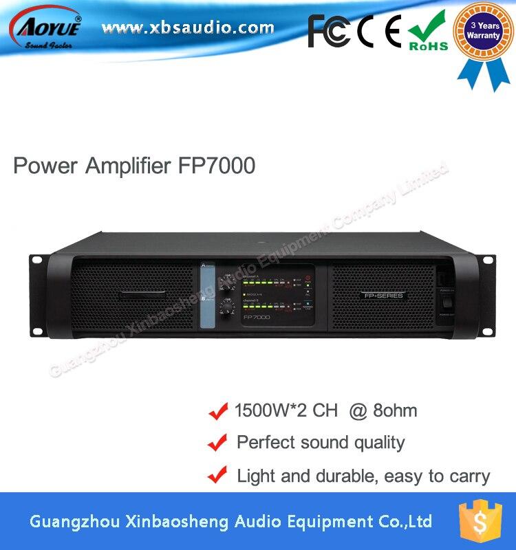 Lab gruppen FP7000 professional mosfet power amplifier 1500W*2CH 1000 watt power amplifier lab gruppen fp10000q for outdoor activities dj equipment public address power amplifier