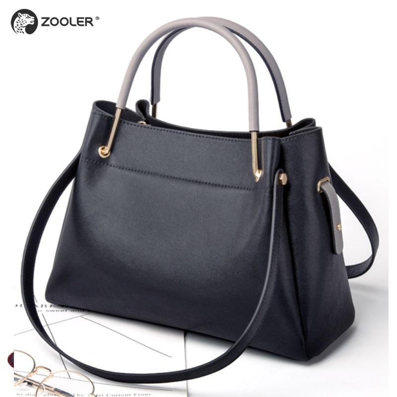 2019 NEW Genuine leather tote bags women ZOOLER soft cow leather shoulder bag brand genuine leather