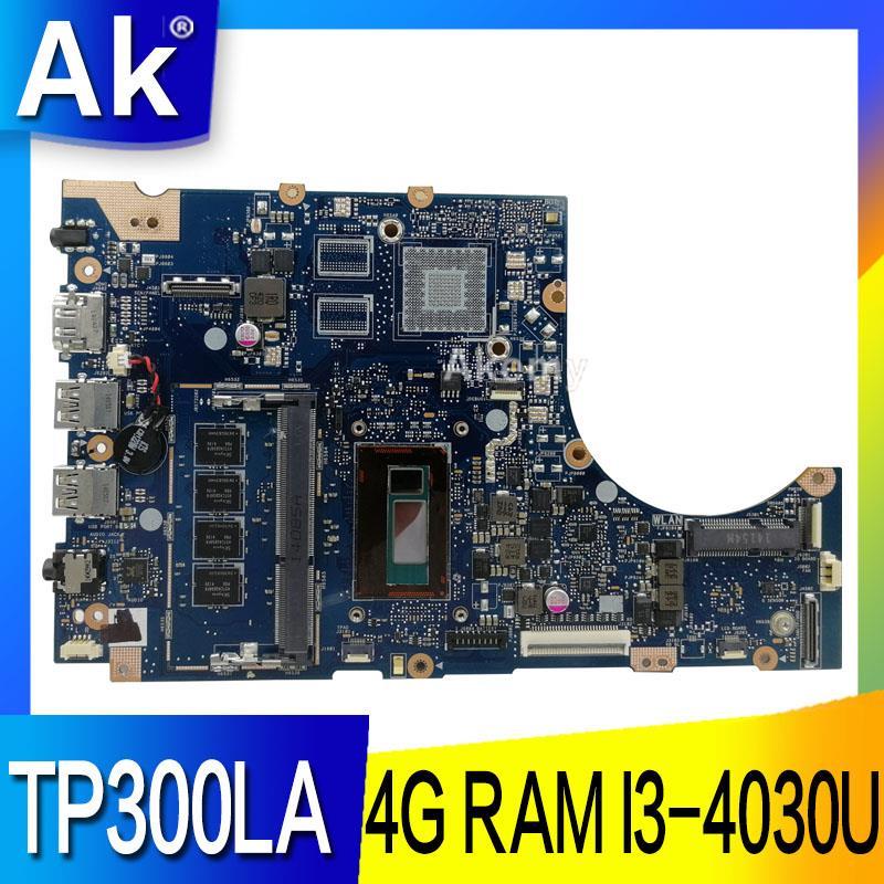 AK TP300LA Laptop motherboard for ASUS TP300LA Q302LA Q302L TP300 TP300L Test original mainboard 4G RAM