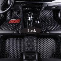 Custom fit car floor mats for Ford Mondeo Focus2 3 Taurus Fiesta Edge Explorer S MAX C MAX F 150 kuga 2008 Mustang car carpet