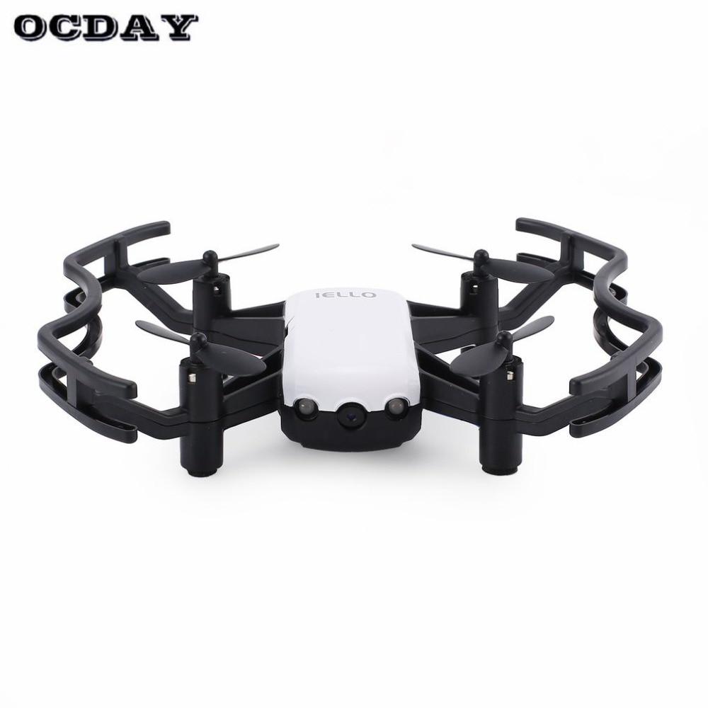 F21g2.4g Rc Mini Quadcopter Drone Met 720 P Hd Wifi Fpv Camera Flow Positionering Gebaar Hoogte Houden Headless Modus Gebaar Fz