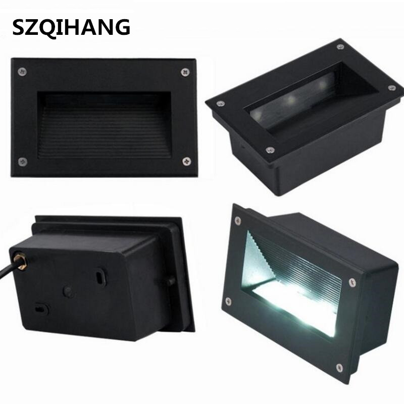 9W Led Path Lights Outdoor/Indoor AC85-265V/DC12V Led Wall Lamp Waterproof For Garden Plaza Stairway Underground Lighting