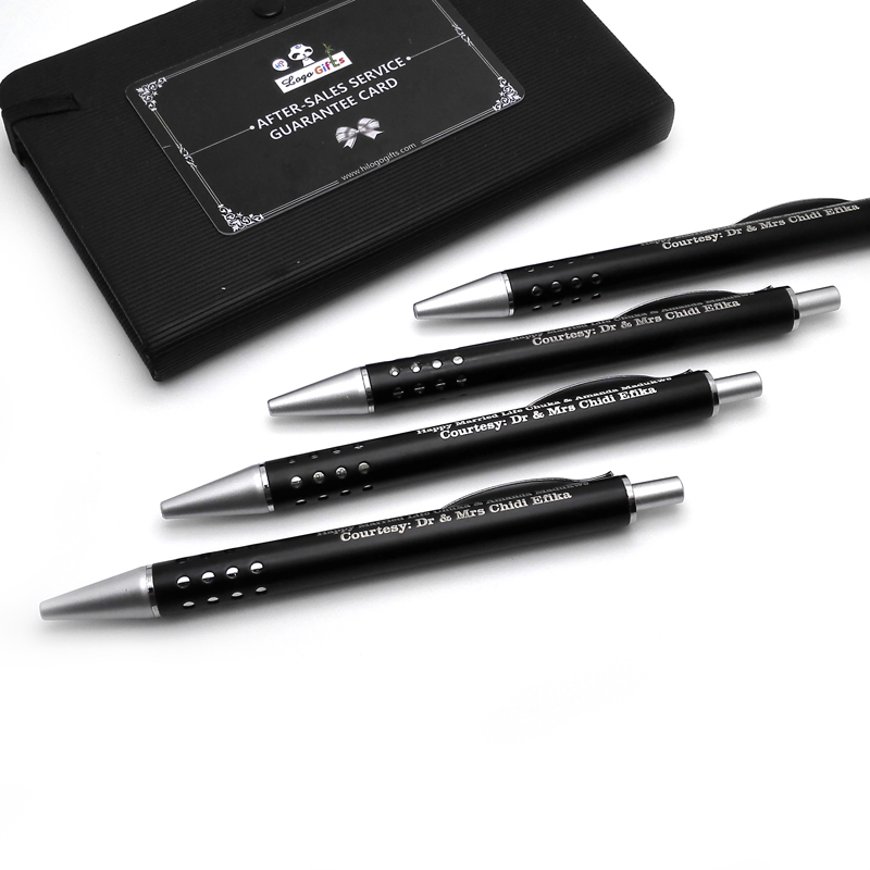 cute pens Metal ball pen writing good and personalized print with your logo/email/telephone/website image