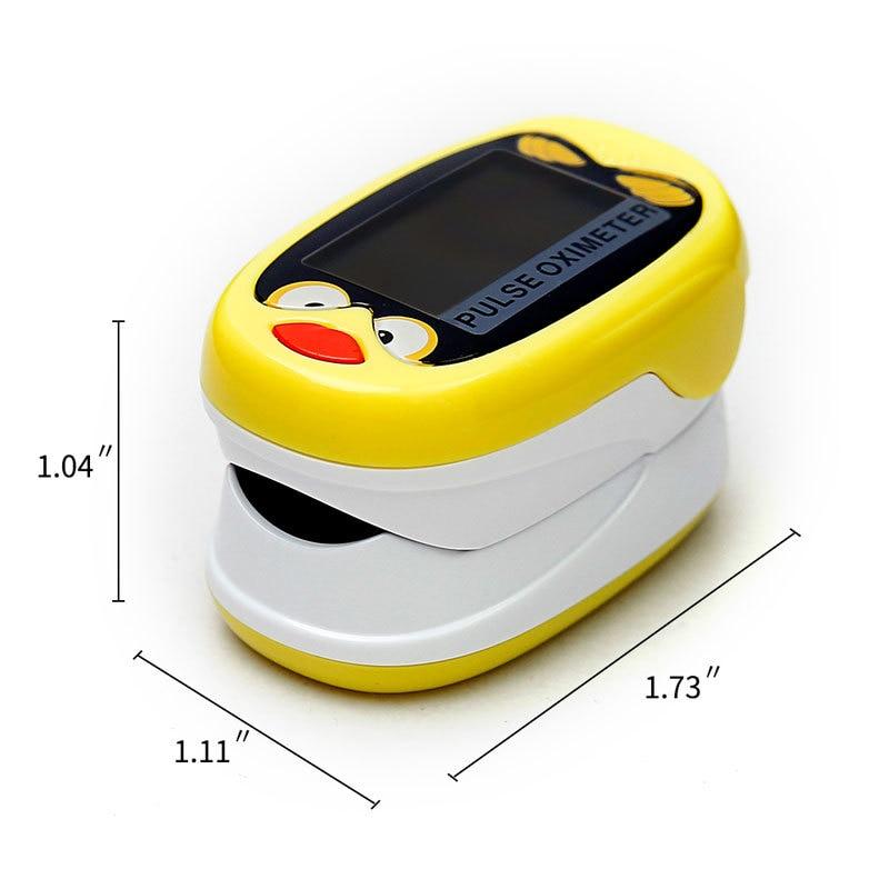 saturação de spo2 do pulsoximeter do oximétrico da criança