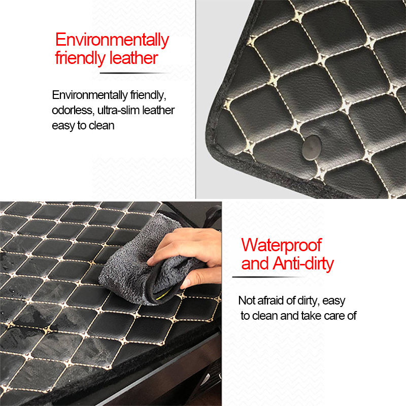Image 4 - SEAMETAL Car Armrest Cover Console Arm Rest Covers Soft Leather Sponge Protective Pad Mats Waterproof Auto Accessories Universal-in Automobiles Seat Covers from Automobiles & Motorcycles