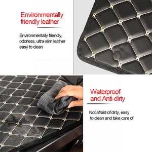 Image 4 - Universal Car Armrest Cover Mat Console Arm Rest Covers Soft Leather Sponge Protective Pad Mats Set Waterproof Auto Accessories