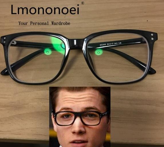 ad91219cf8 Kingsman  The Secret Service Eyewear Cosplay Prop Glasses Accessories