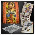 High Quality Chinese Style Book Traditional Tattoo Books For Tattoo Supplies Creative Tattoo Flash Designs Tattoo Books