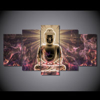 High Definition Buddha Painting Oil Painting Art Printing Living Room Decoration Send Free Print Canvas Kn