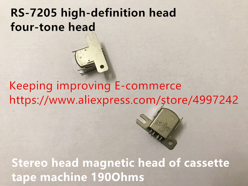 Compatible With RS-7205 High-definition Head Four-tone Head Stereo Head Magnetic Head Of Cassette Tape Machine 190Ohms Switch