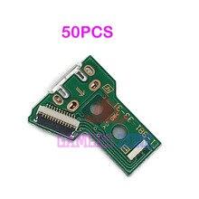 50 шт., плата микро usb для зарядки V4 V5, IC, для Sony Playstation 4, PS4 Pro, контроллер, зарядное устройство, плата