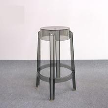 minimalista moderno diseo taburete taburete contrario caft loft saln taburetes de plstico altura del asiento