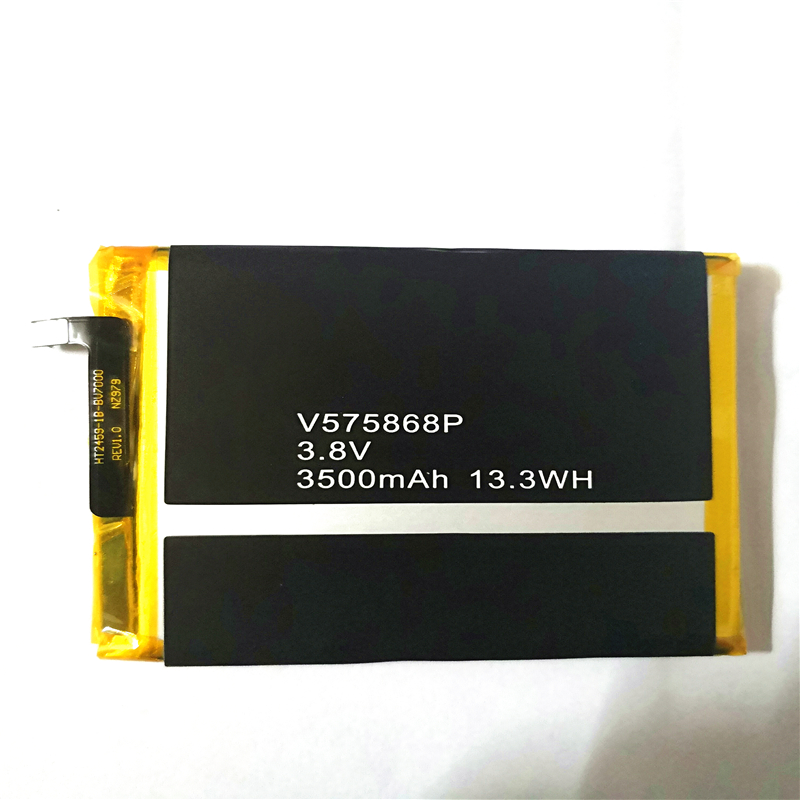 3.8V 3500mAh V575868P For <font><b>Blackview</b></font> <font><b>BV7000</b></font> For <font><b>Blackview</b></font> <font><b>BV7000</b></font> <font><b>Pro</b></font> <font><b>Battery</b></font> with Repair Machine Tools and phone stand for gift image