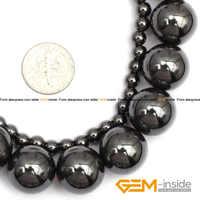 Hématite: 5mm 16mm hématite pierre magnétite perles avec perles en pierre naturelle magnétique bricolage perles pour la fabrication de bijoux livraison gratuite!