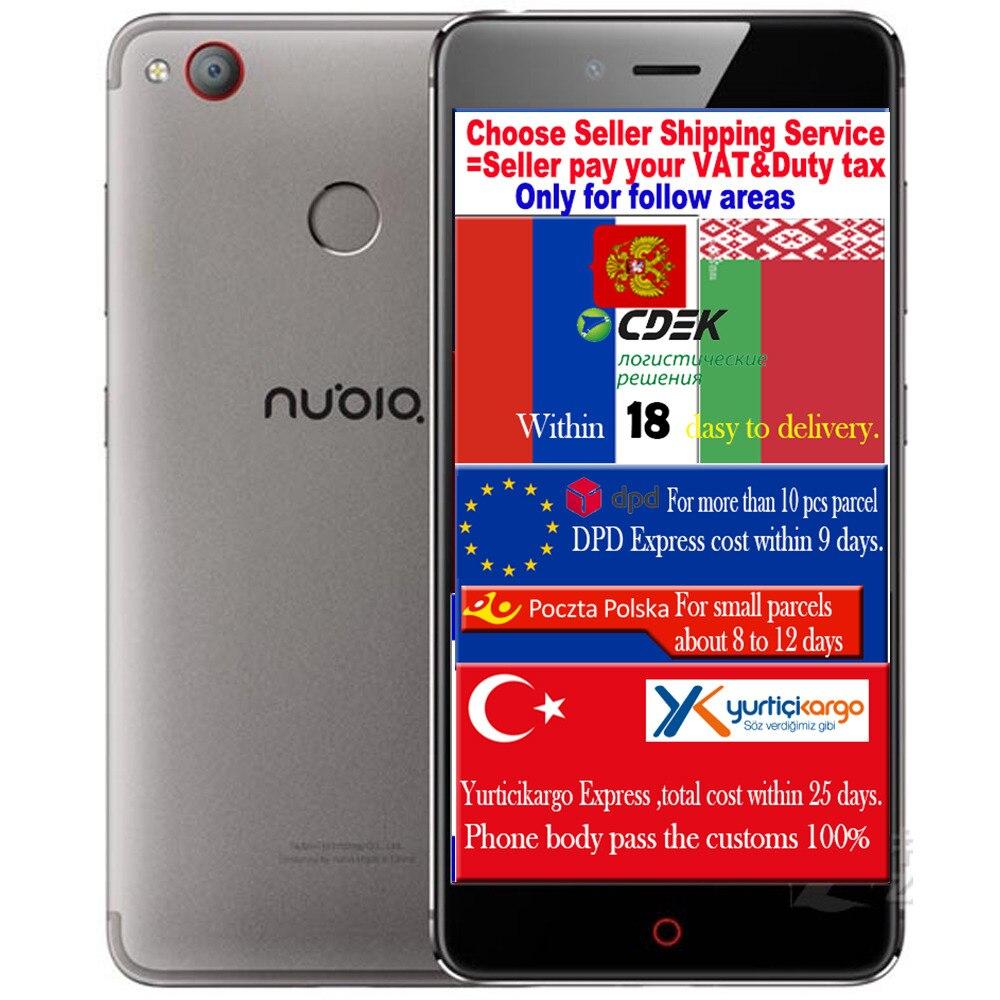 Цена за ZTE Нубии Z11 Mini S мини Qualcomm Snapdragon 625 CPU Мобильных Телефонов 4 Г RAM 64 Г ROM 23 М Камеры Мобильного Телефона 5.2 FHD 3000mA