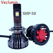 Car headlight Mini H7 LED Bulbs H4 LED H8 H11 XHP70 50 Chip Headlamps Kit 9005 HB3 9006 HB4 Fog light 12V LED Lamp 60W 20000LM