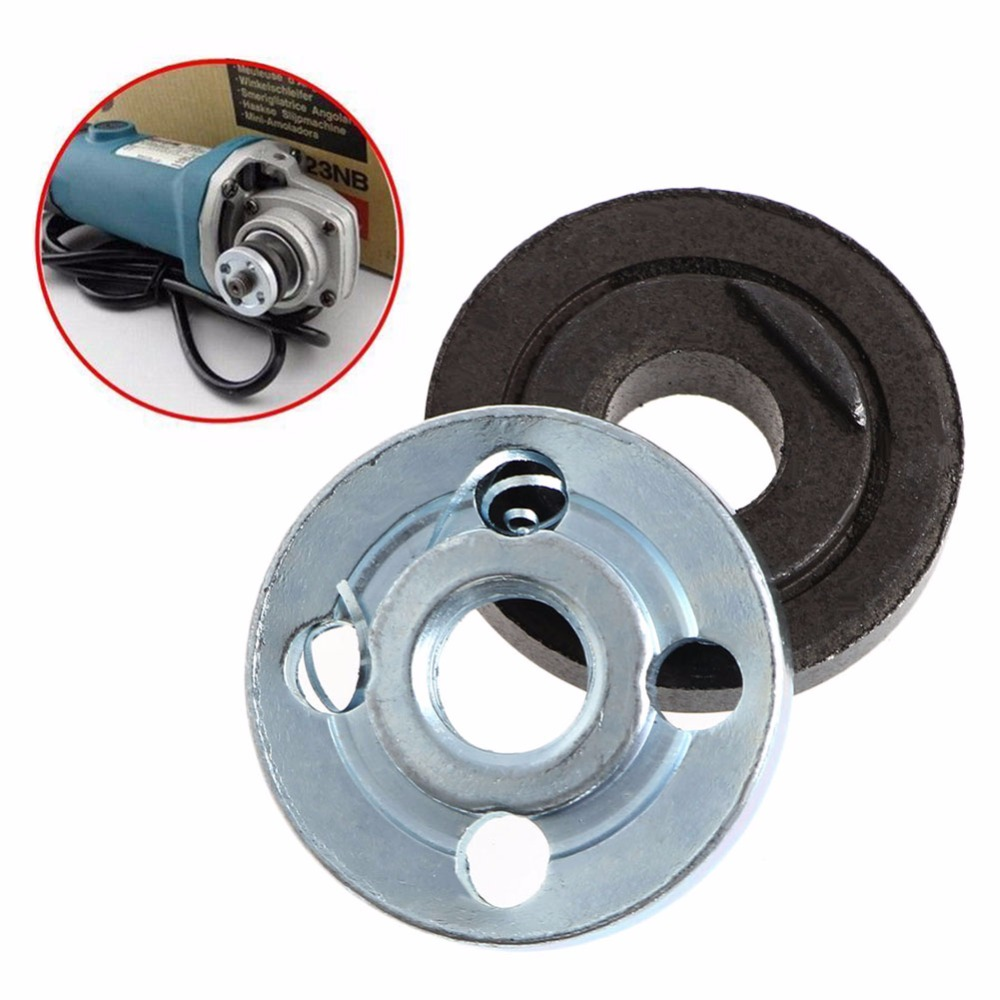2 Pair Replacement Angle Grinder Part Inner Outer Flange for Makita 9523NB