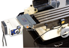 ALSGS ALB 310 200 RPM 450in lb110V שולחן כוח הזנת מתח 220 V אופקי אוטומטי להאכיל למכונת כרסום ציר X