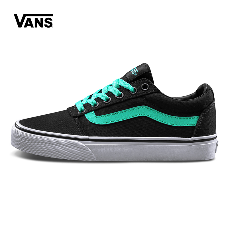 Original New Arrival Vans Womens Active Ward Low-top Skateboarding Shoes Sneakers Canvas Comfortable Sport Outdoor VN0A3IUNR78 original new arrival vans men s active ward low top skateboarding shoes sport outdoor sneakers canvas comfortable vn0a38dmmho