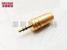 Free shipping 2016 new 3 5 mm Stereo audio lotus plug stereo plug Section three level