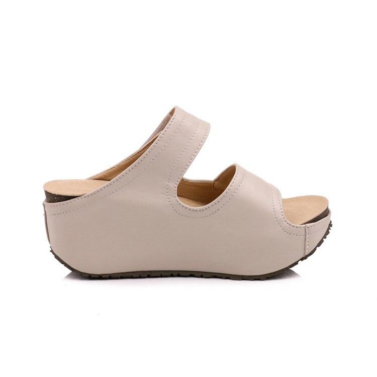 MLJUESE 2018 zapatillas de mujer estilo al aire libre de verano color - Zapatos de mujer - foto 5