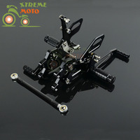 CNC Adjustable Motorcycle Billet Foot Pegs Pedals Rest For KAWASAKI ZX10R 2004 2005 2004 2005 04 05