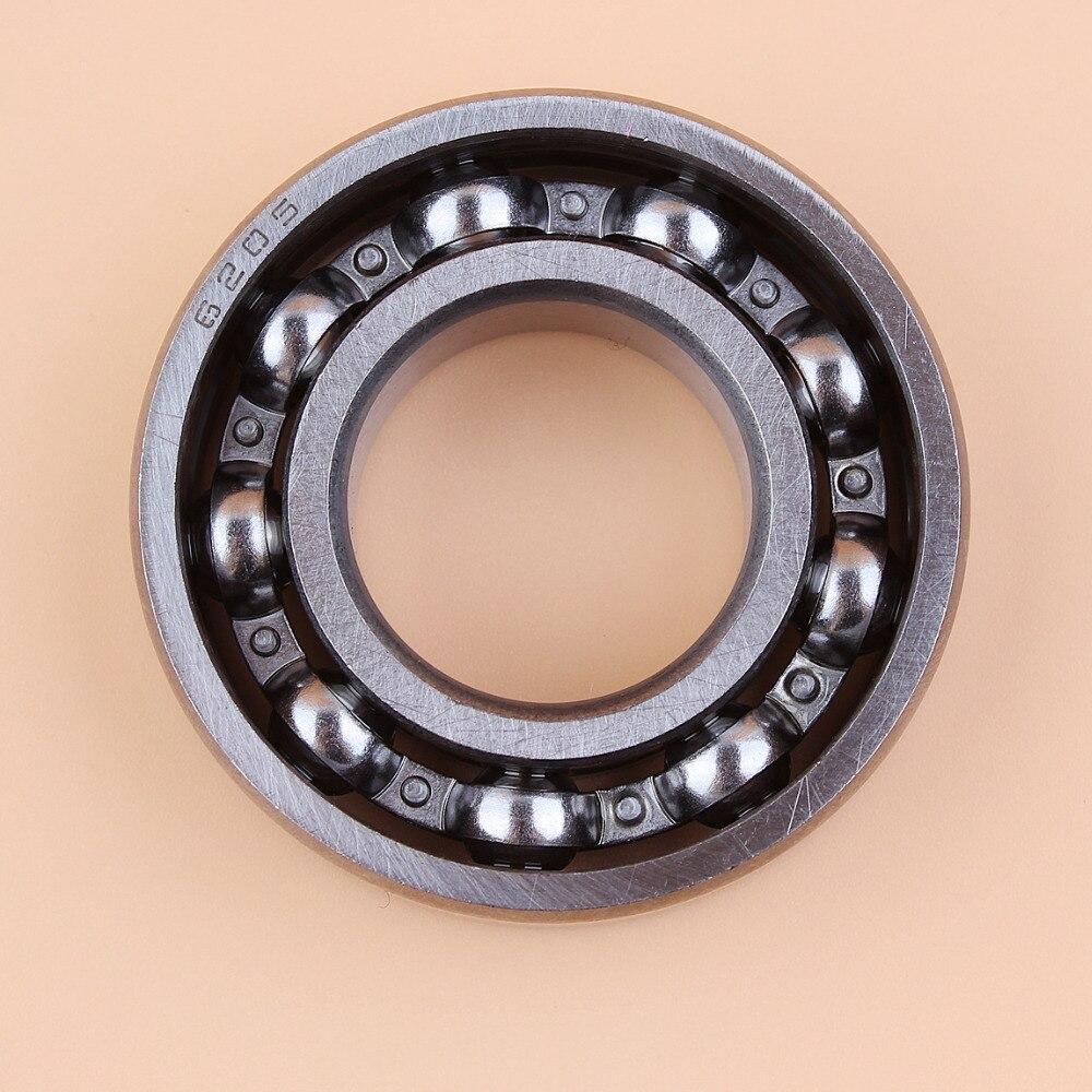 Crankcase Crankshaft Ball Bearing For HONDA GX120 GX140 GX160 GX200 G150 G200 G300 GX200 96100-62050-00 #6205 Small Engine Motor