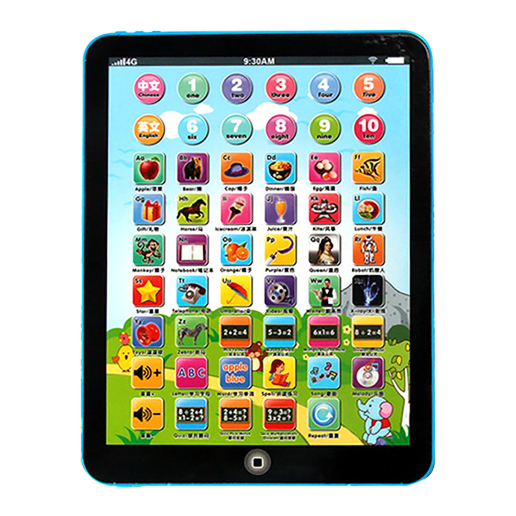 Mini Children Multi-Function Learning Touch Tablet Pad Computer Education Toy Electric Ipad For Babies Electronic Learning Toys