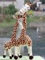 Candice guo! súper ventas super lindo jirafa de peluche de juguete muñeca de peluche de juguete kits les encanta más de 1 unid