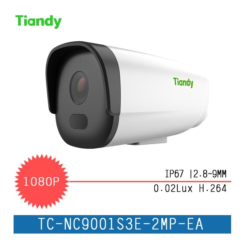 """Здесь продается  New Tiandy IP Camera 1/2.7"""" 2MP CMOS English Version 1080P 0.02 Lux Outdoor Security Waterproof Night Vision IP Camer  Безопасность и защита"""