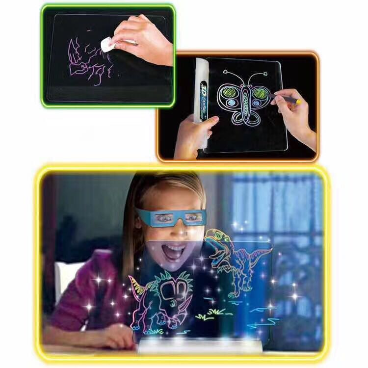 Magic 3D Drawing Board 3D Children's science and education and education board science education