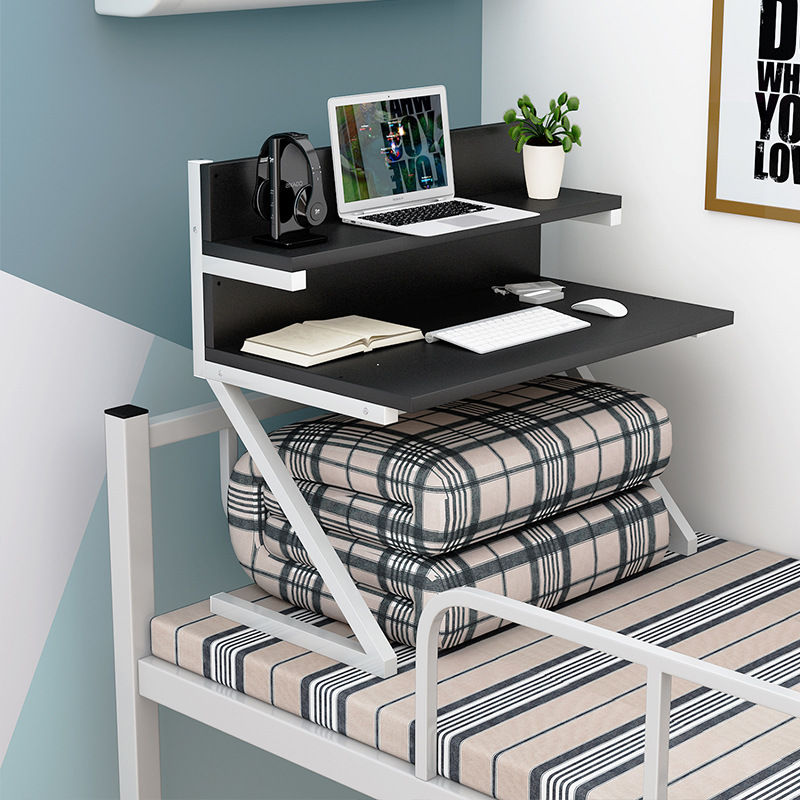 College Students bed use computer table lazy people up bed computer table study small ta ...