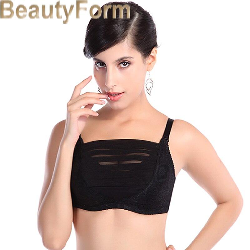 8319 Mastectomy Bra Comfort Pocket Bra for Silicone Breast Forms Artificial Breast Cover Brassiere Underwear